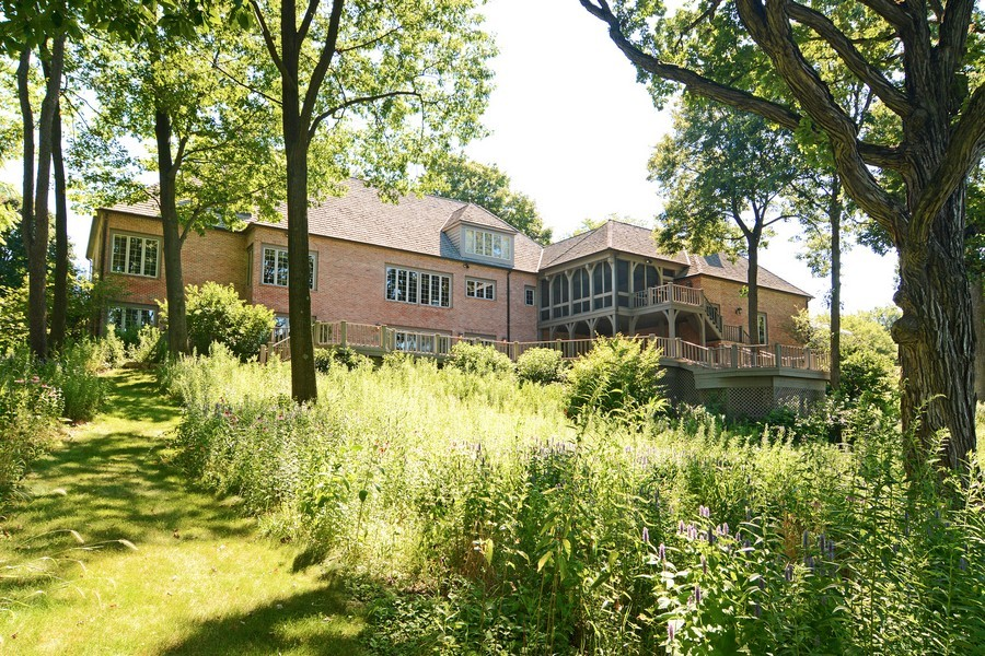 Real Estate Photography - 9 Goose Lake, Barrington Hills, IL, 60010 - Rear View