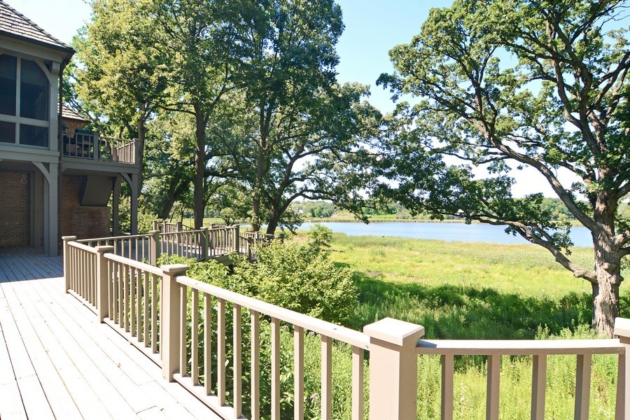 Real Estate Photography - 9 Goose Lake, Barrington Hills, IL, 60010 - Deck