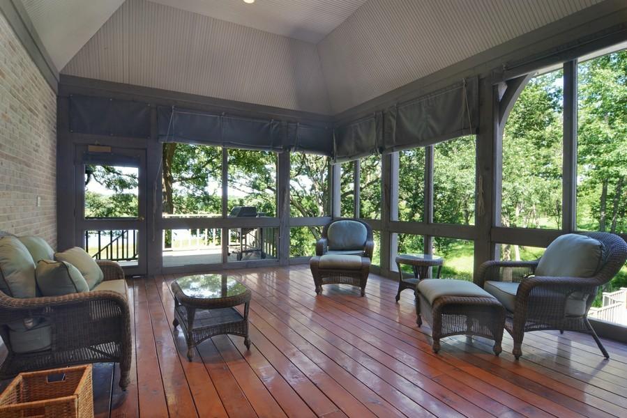Real Estate Photography - 9 Goose Lake, Barrington Hills, IL, 60010 - Sun Room