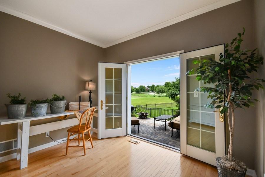 Real Estate Photography - 39W323 Sheldon Lane, Geneva, IL, 60134 - Bonus Room/Sitting Room/Den