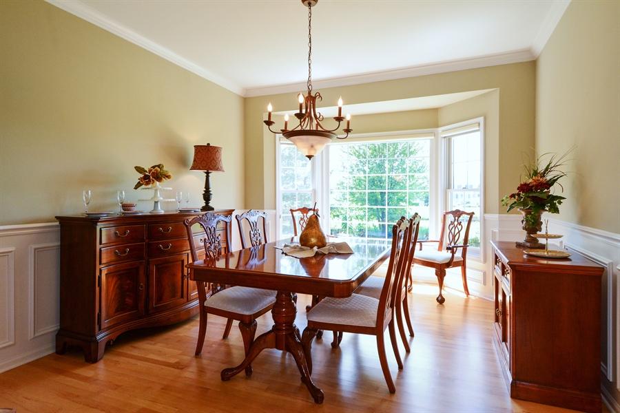 Real Estate Photography - 39W323 Sheldon Lane, Geneva, IL, 60134 - Dining Room