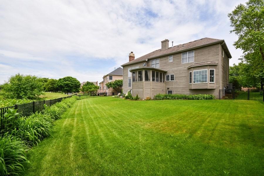 Real Estate Photography - 39W323 Sheldon Lane, Geneva, IL, 60134 - Back Yard