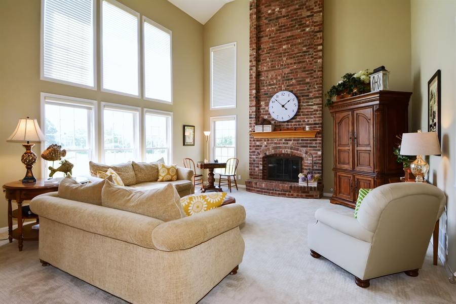 Real Estate Photography - 39W323 Sheldon Lane, Geneva, IL, 60134 - Family Room
