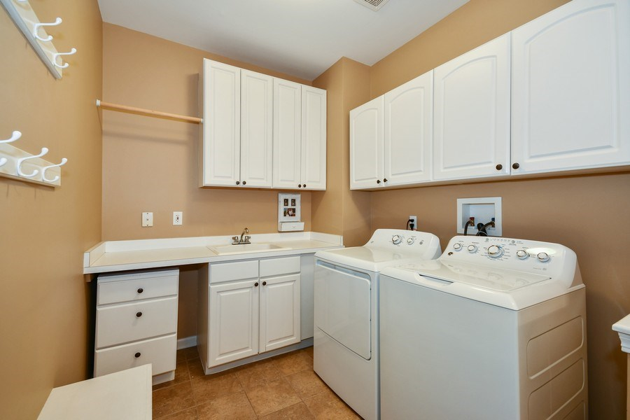 Real Estate Photography - 39W323 Sheldon Lane, Geneva, IL, 60134 - Laundry Room