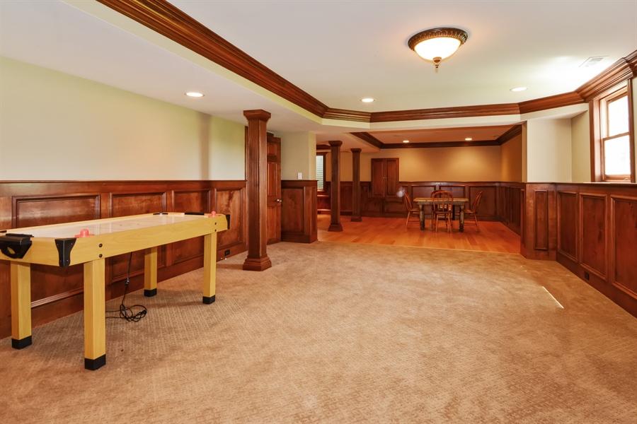 Real Estate Photography - 39W323 Sheldon Lane, Geneva, IL, 60134 - Rec Room