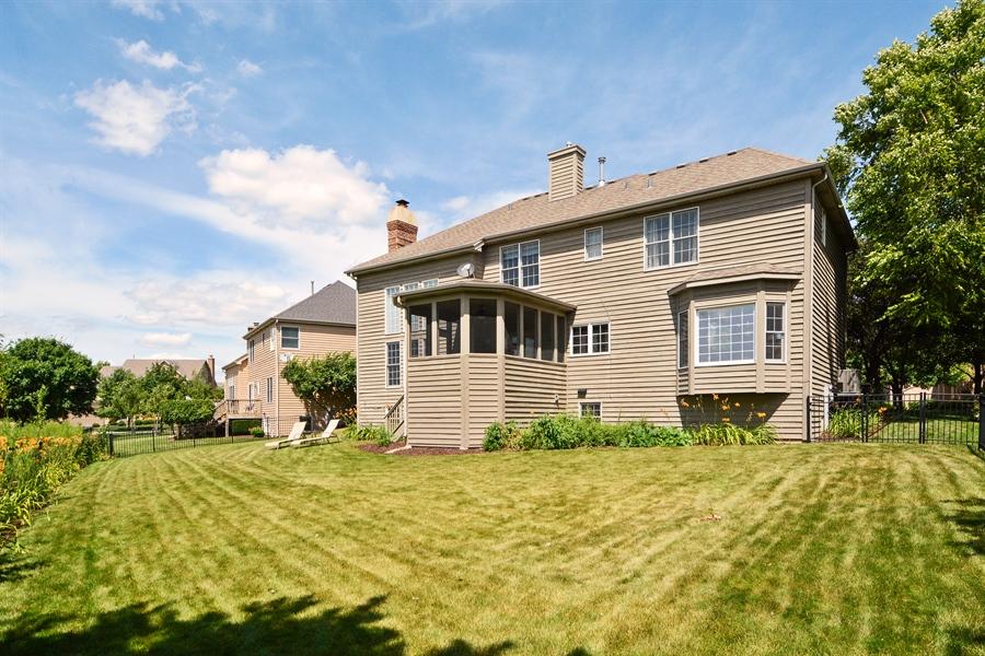 Real Estate Photography - 39W323 Sheldon Lane, Geneva, IL, 60134 - Rear View