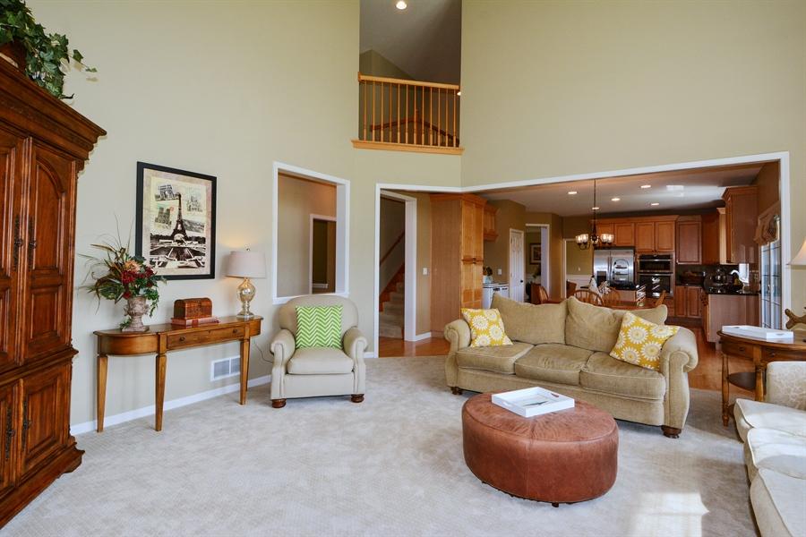 Real Estate Photography - 39W323 Sheldon Lane, Geneva, IL, 60134 - Family Room / Kitchen