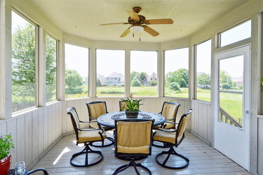 Real Estate Photography - 39W323 Sheldon Lane, Geneva, IL, 60134 - Screened in Porch