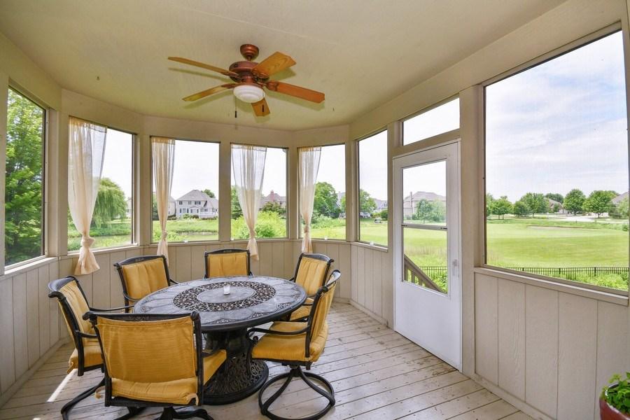 Real Estate Photography - 39W323 Sheldon Lane, Geneva, IL, 60134 - Sunroom