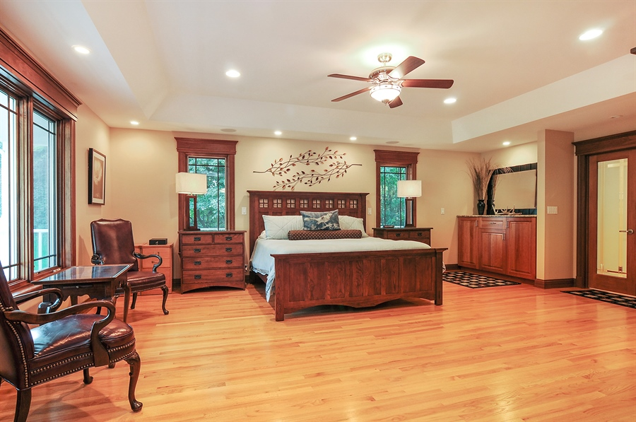 Real Estate Photography - 29567 N Gilmer Rd, Grayslake, IL, 60030 - Master Bedroom