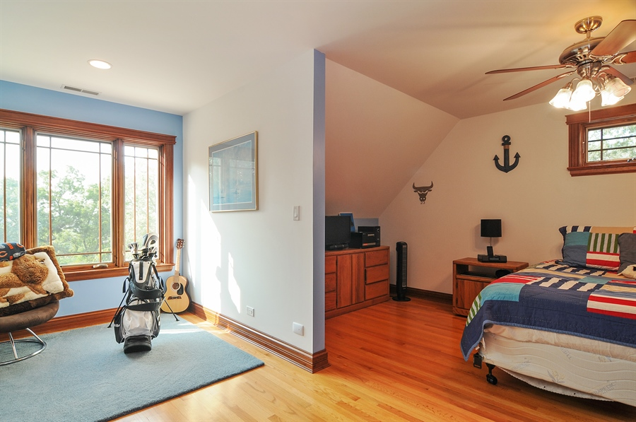 Real Estate Photography - 29567 N Gilmer Rd, Grayslake, IL, 60030 - 2nd Bedroom
