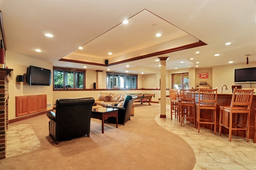 Real Estate Photography - 29567 N Gilmer Rd, Grayslake, IL, 60030 - Lower Level