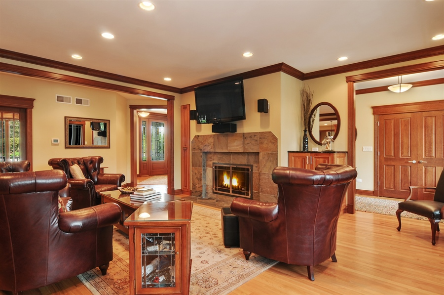 Real Estate Photography - 29567 N Gilmer Rd, Grayslake, IL, 60030 - Living Room