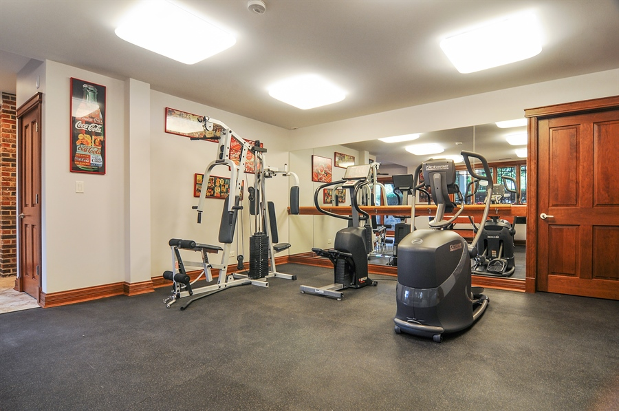 Real Estate Photography - 29567 N Gilmer Rd, Grayslake, IL, 60030 - Exercise Room