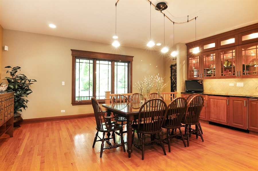 Real Estate Photography - 29567 N Gilmer Rd, Grayslake, IL, 60030 - Dining Room