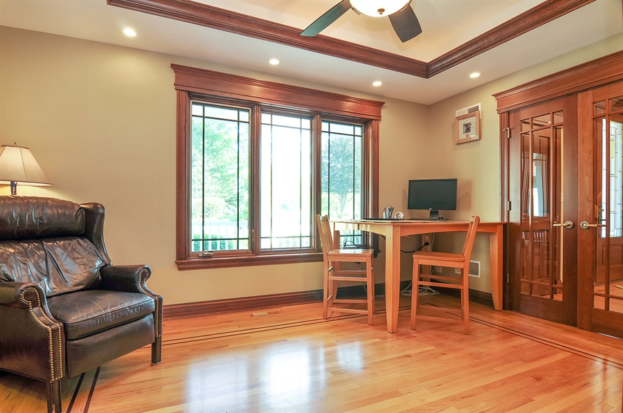 Real Estate Photography - 29567 N Gilmer Rd, Grayslake, IL, 60030 - Den