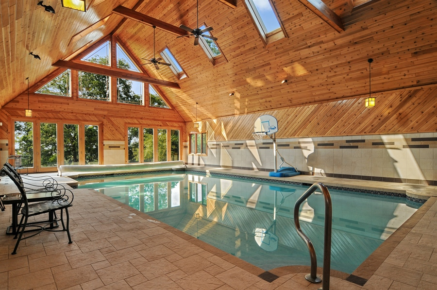 Real Estate Photography - 29567 N Gilmer Rd, Grayslake, IL, 60030 - Pool Room