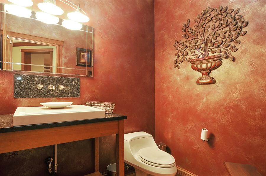 Real Estate Photography - 29567 N Gilmer Rd, Grayslake, IL, 60030 - Half Bath