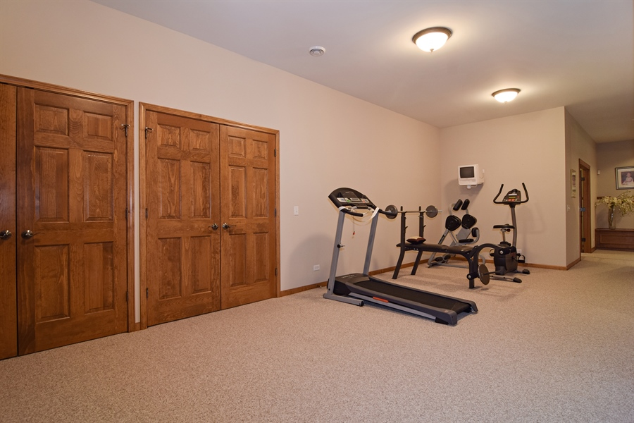 Real Estate Photography - 38W380 Heritage Oak, St Charles, IL, 60175 - Entertainment Room