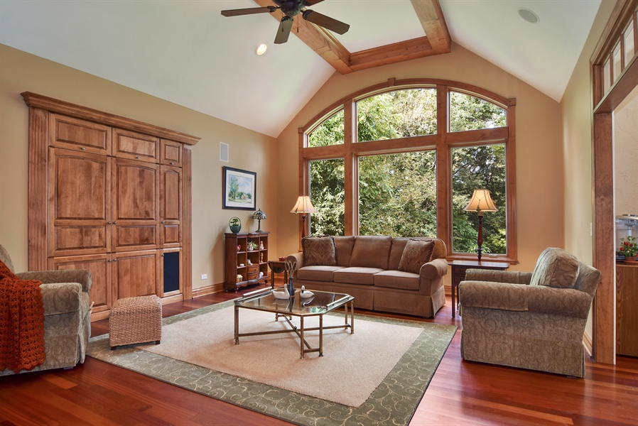Real Estate Photography - 38W380 Heritage Oak, St Charles, IL, 60175 - Family Room