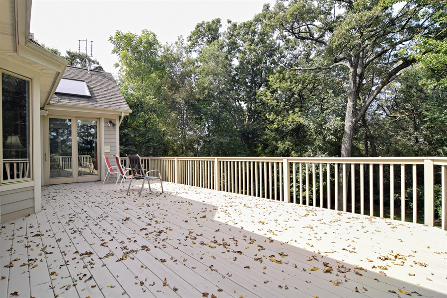 Real Estate Photography - 38W380 Heritage Oak, St Charles, IL, 60175 - Deck