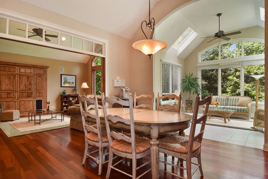 Real Estate Photography - 38W380 Heritage Oak, St Charles, IL, 60175 - Breakfast Nook