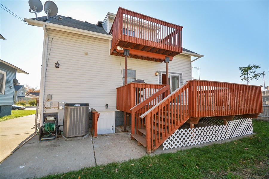 Real Estate Photography - 115 E North Ave, Elmhurst, IL, 60126 - Rear View