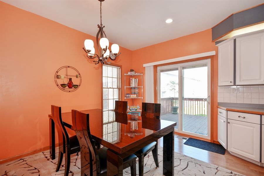 Real Estate Photography - 115 E North Ave, Elmhurst, IL, 60126 - Breakfast Nook