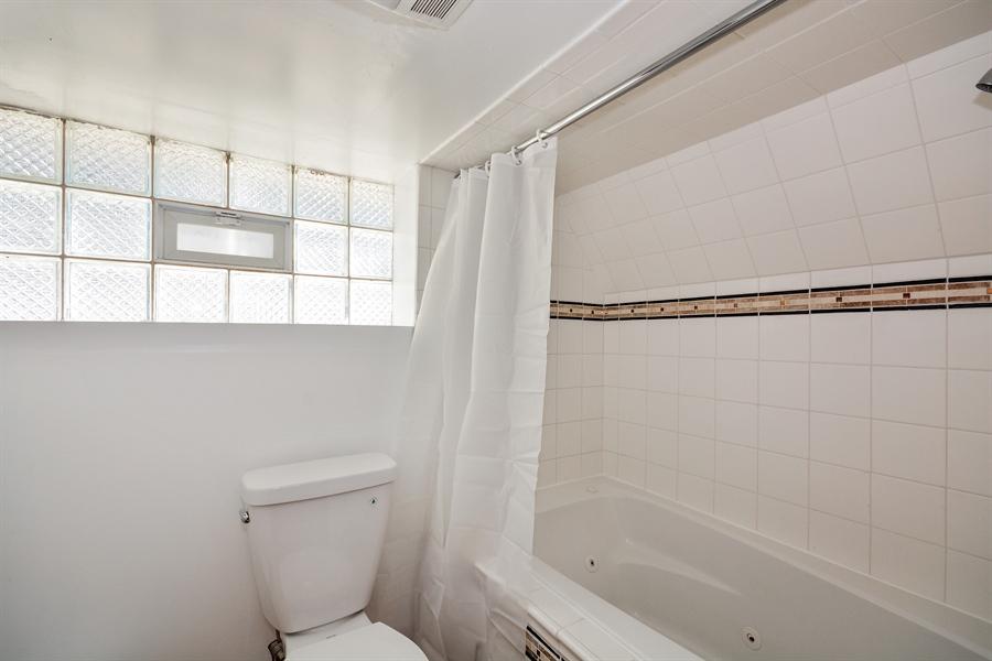 Real Estate Photography - 115 E North Ave, Elmhurst, IL, 60126 - 2nd Bathroom