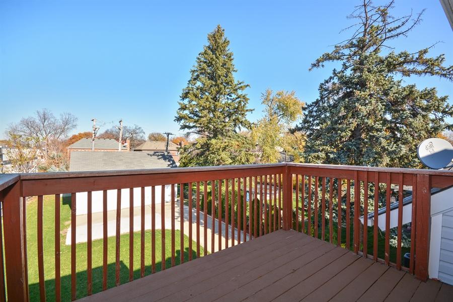 Real Estate Photography - 115 E North Ave, Elmhurst, IL, 60126 - Balcony