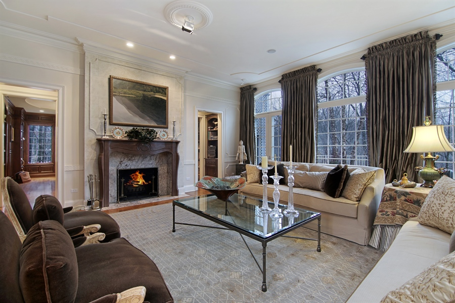 Real Estate Photography - 143 Cary, Highland Park, IL, 60035 - Living Room