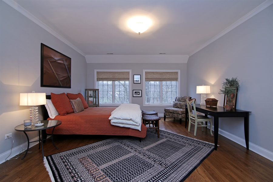 Real Estate Photography - 143 Cary, Highland Park, IL, 60035 - Bedroom