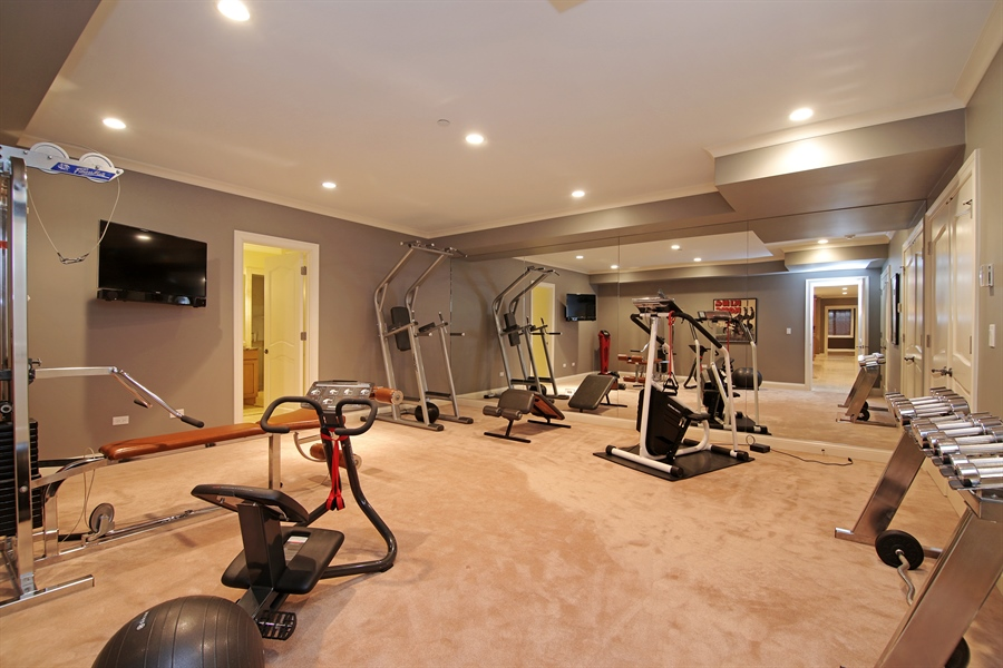 Real Estate Photography - 143 Cary, Highland Park, IL, 60035 - Exercise Room