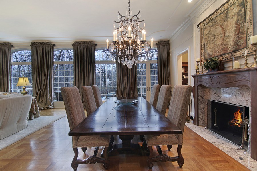 Real Estate Photography - 143 Cary, Highland Park, IL, 60035 - Dining Room