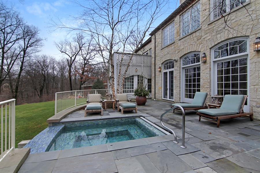 Real Estate Photography - 143 Cary, Highland Park, IL, 60035 - Pool