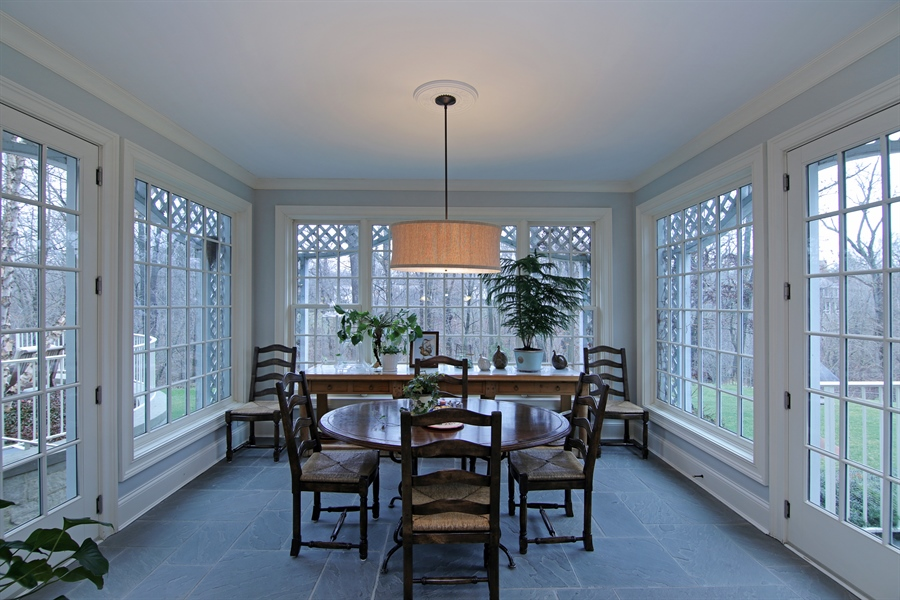 Real Estate Photography - 143 Cary, Highland Park, IL, 60035 - Breakfast Nook