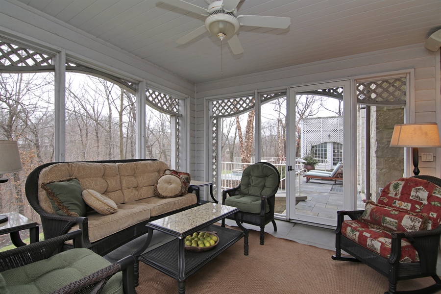 Real Estate Photography - 143 Cary, Highland Park, IL, 60035 - Sun Room