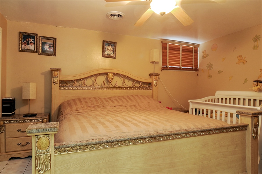 Real Estate Photography - 2958 W Vermont Ave., Waukegan, IL, 60087 - 2nd Bedroom
