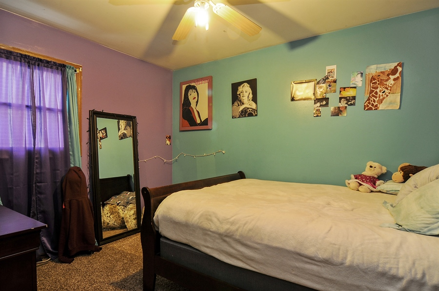 Real Estate Photography - 2958 W Vermont Ave., Waukegan, IL, 60087 - 3rd Bedroom