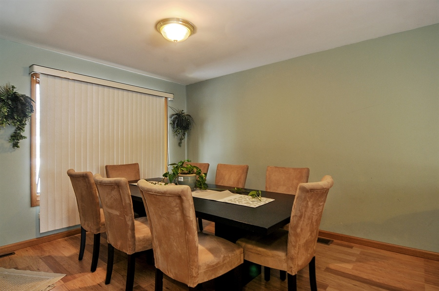 Real Estate Photography - 2958 W Vermont Ave., Waukegan, IL, 60087 - Dining Room