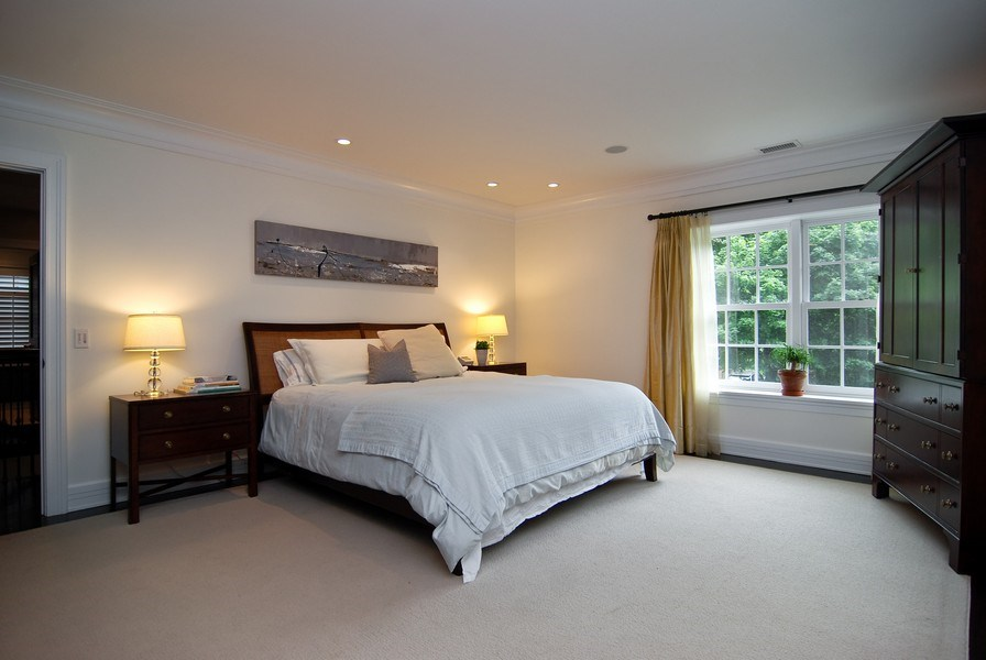 Real Estate Photography - 654 W Hutchinson, Chicago, IL, 60613 - Master Bedroom
