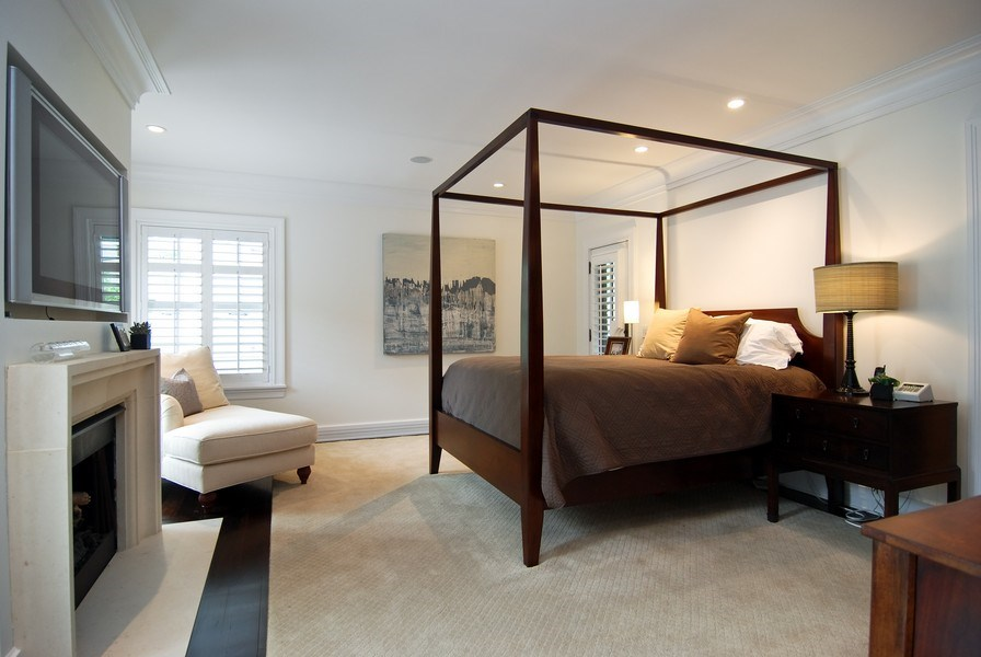 Real Estate Photography - 654 W Hutchinson, Chicago, IL, 60613 - 2nd Bedroom