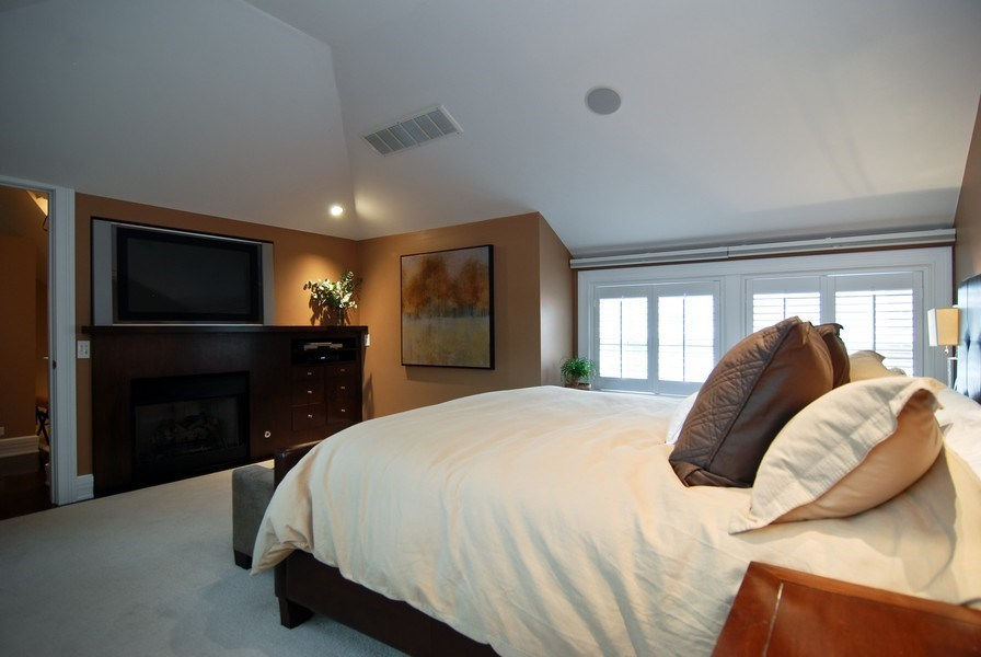 Real Estate Photography - 654 W Hutchinson, Chicago, IL, 60613 - 3rd Bedroom