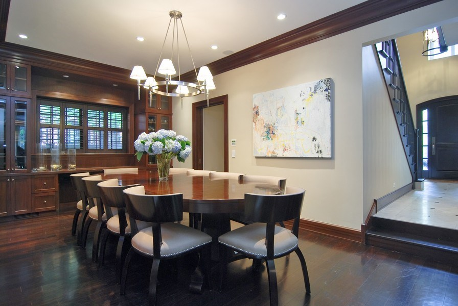 Real Estate Photography - 654 W Hutchinson, Chicago, IL, 60613 - Dining Room