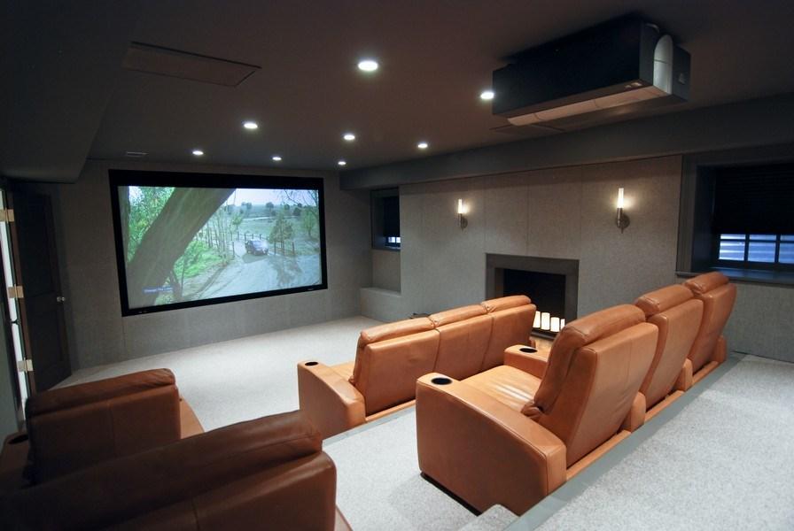 Real Estate Photography - 654 W Hutchinson, Chicago, IL, 60613 - Theater