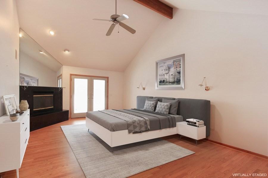 Real Estate Photography - 1885 Keats, Highland Park, IL, 60035 - Master Bedroom