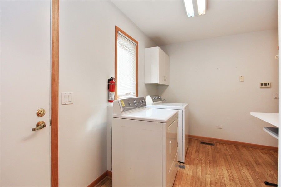 Real Estate Photography - 1885 Keats, Highland Park, IL, 60035 - Laundry Room