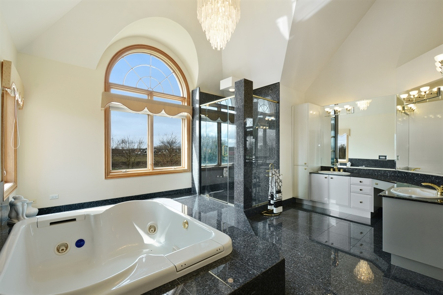 Real Estate Photography - 26 Star Lane, South Barrington, IL, 60010 - Master Bathroom