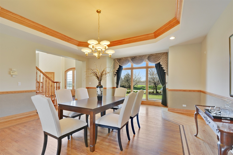 Real Estate Photography - 26 Star Lane, South Barrington, IL, 60010 - Dining Room