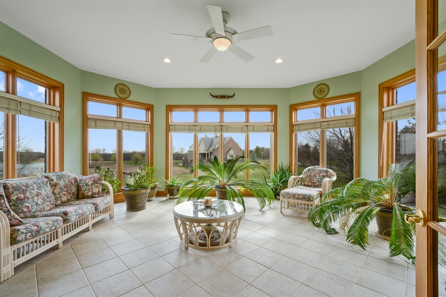 Real Estate Photography - 26 Star Lane, South Barrington, IL, 60010 - Sun Room